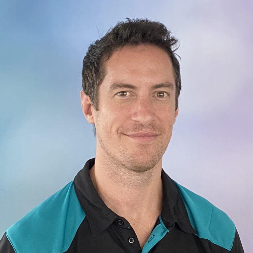 Physiotherapist Adam Ryan